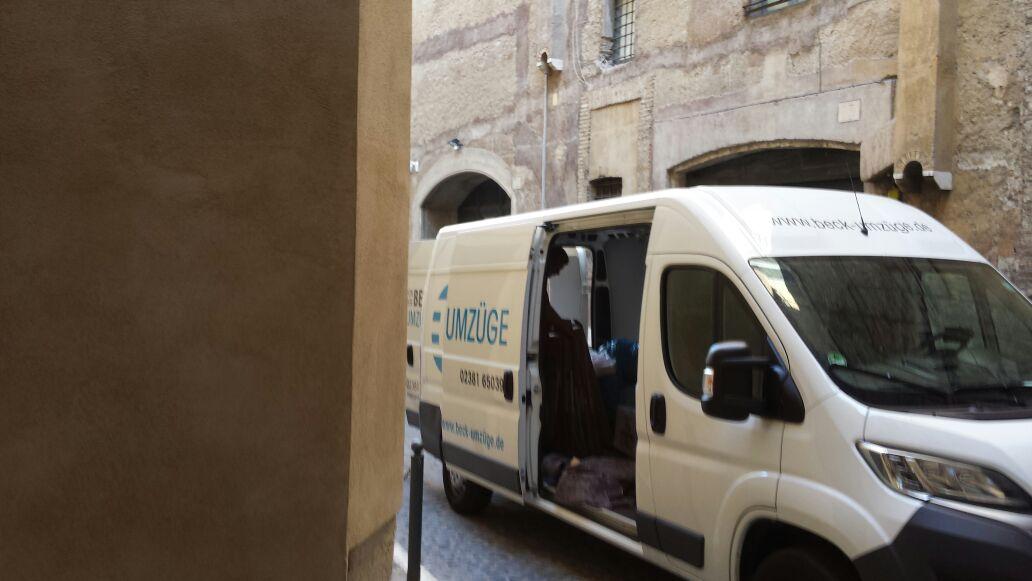 Sorgenfreier Umzug in die italienische Hauptstadt